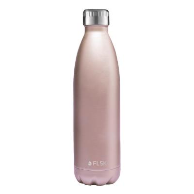 FLSK Trinkflasche 750ml Roségold