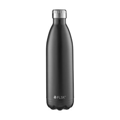 FLSK Trinkflasche Black
